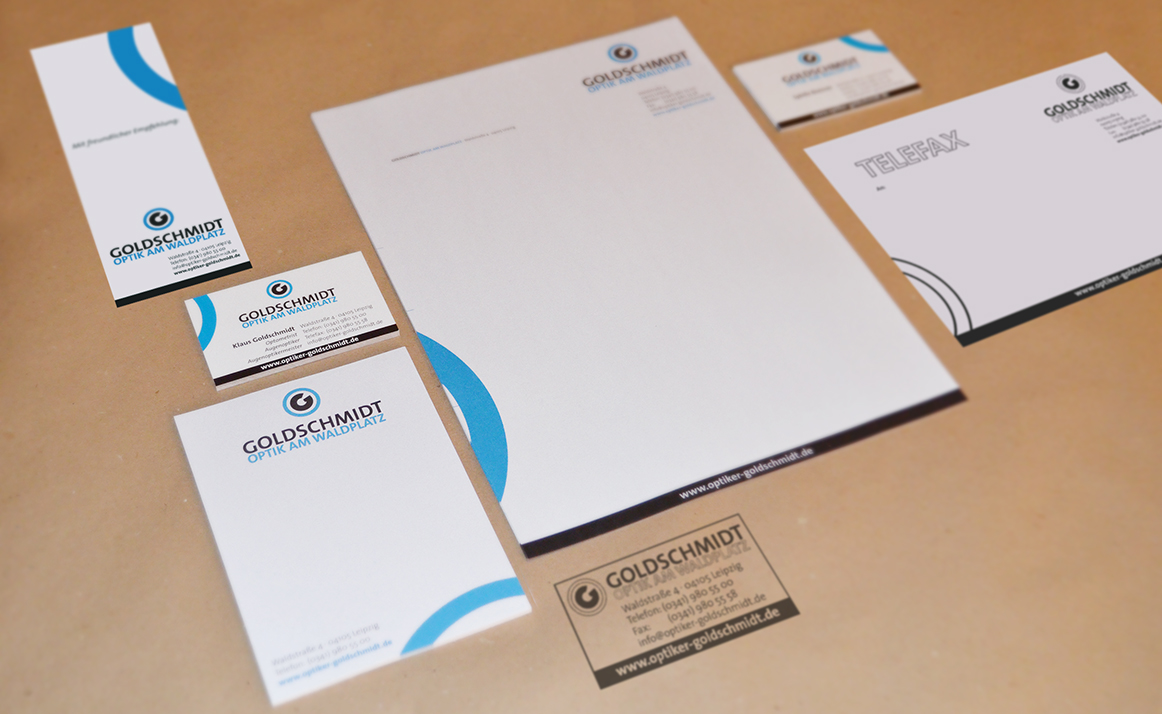 Goldschmidt Optik Corporate Design