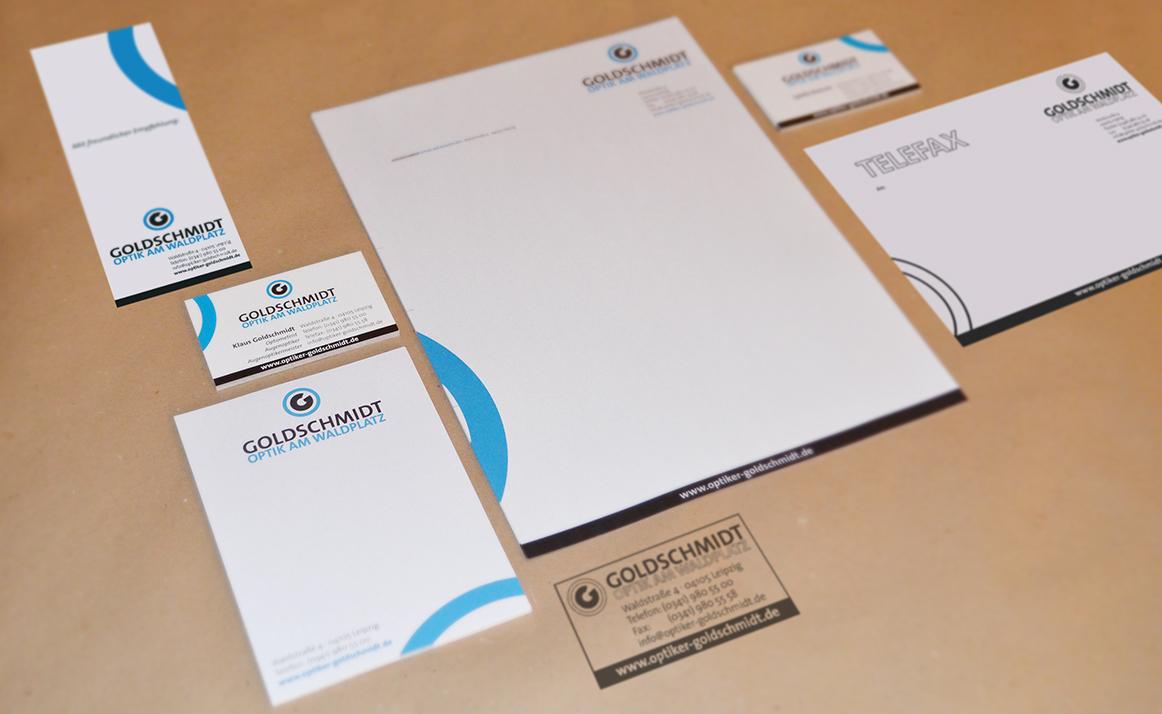 Goldschmidt Optik Corporate Design