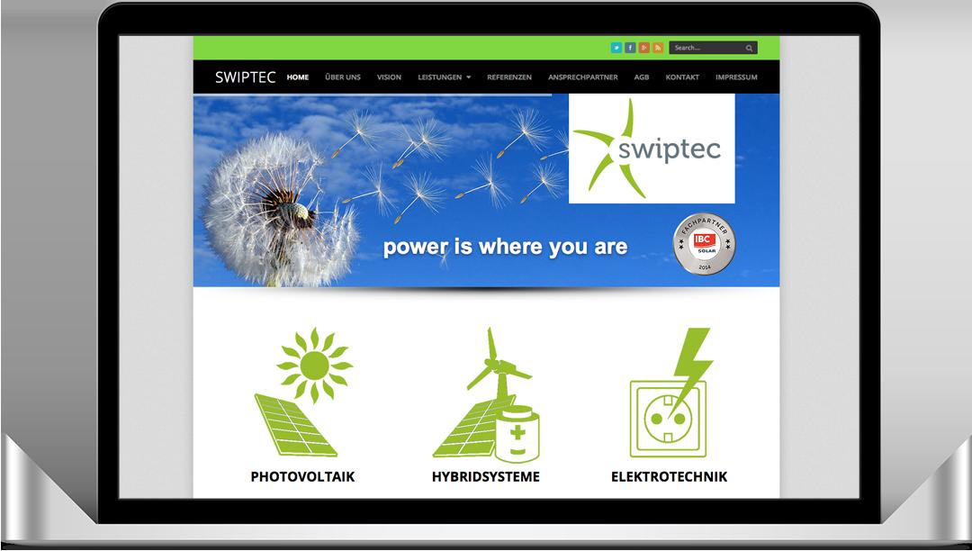 Relaunch Internetauftritt swiptec GmbH Reichelt