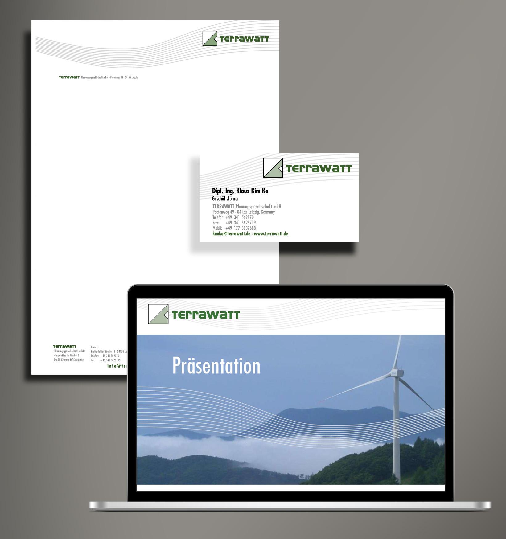Corporate Design Terrawatt GmbH
