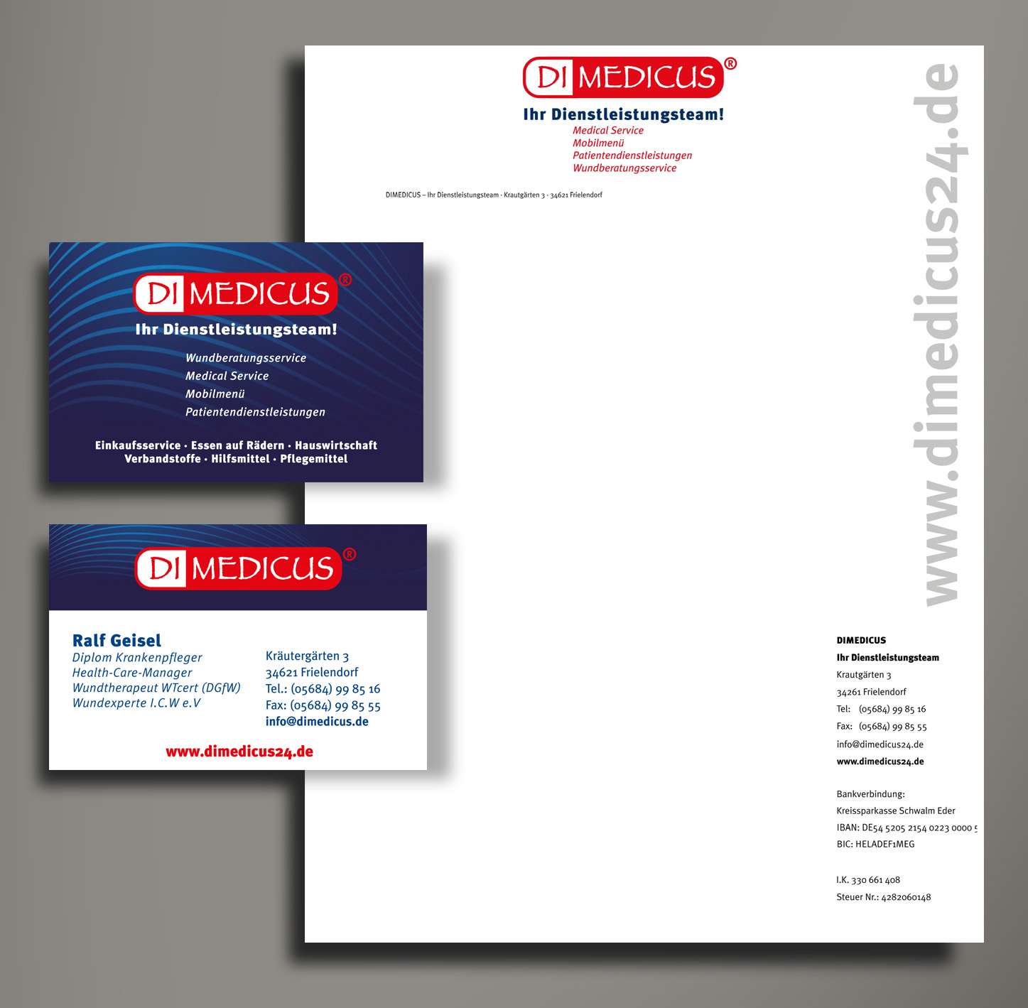 DIMEDICUS Corporate Design