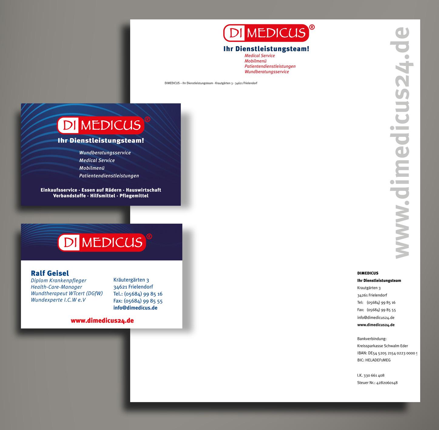 DIMEDICUS Corporate Design