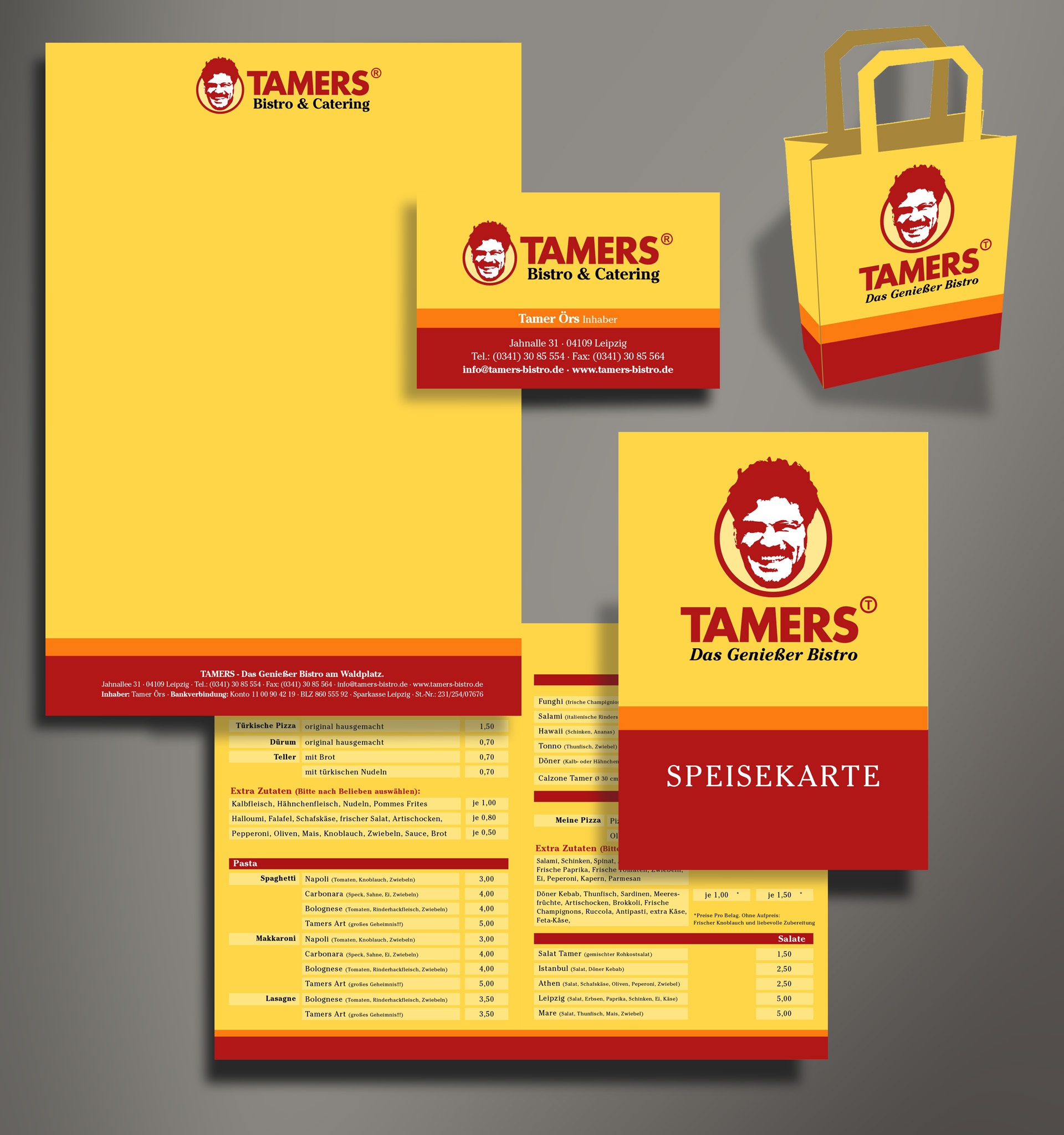 TAMERS Corporate Design Reichelt