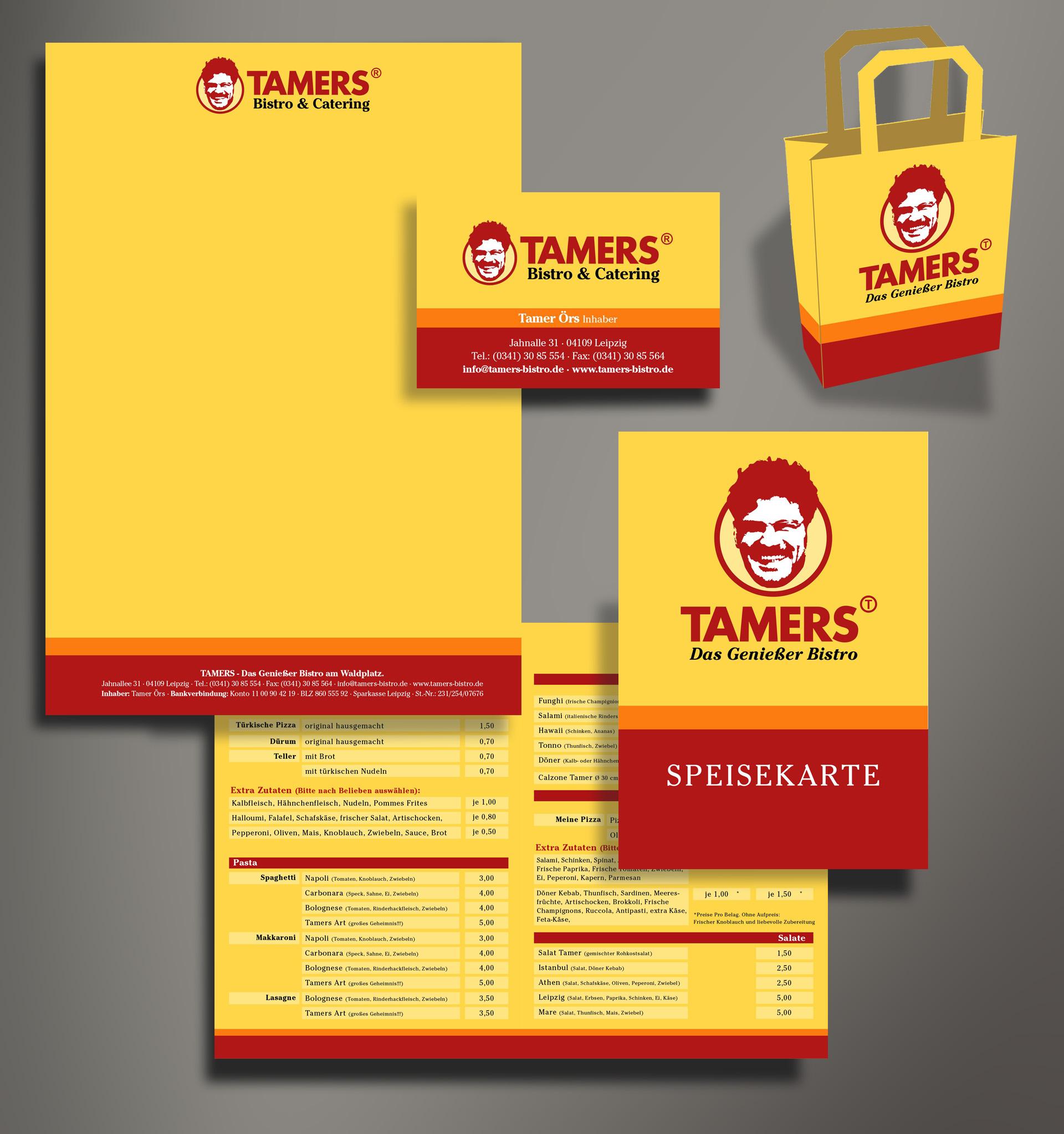 TAMERS Corporate Design Reichelt