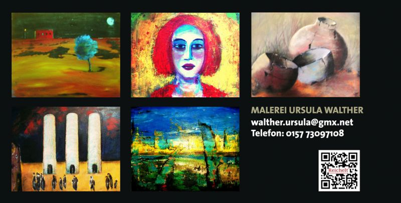 Imagewerbung für die Künstlerin Ursula Walther