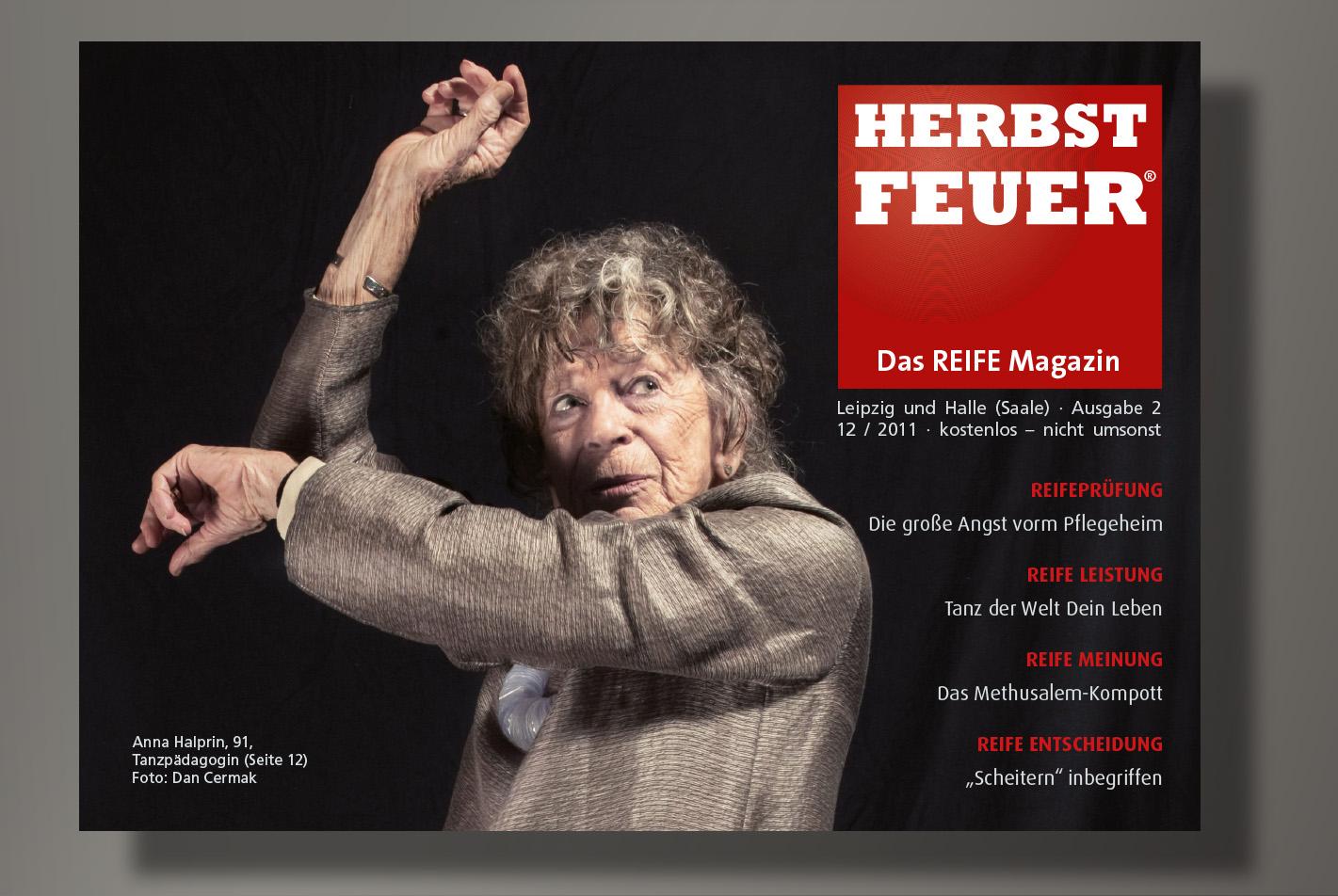 HERBSTFEUER – Das REIFE Magazin für Leipzig und Halle (Saale); Ausgabe 2
