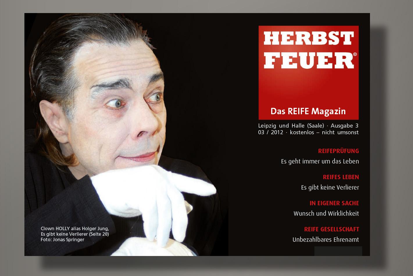 HERBSTFEUER – Das REIFE Magazin für Leipzig und Halle (Saale); Ausgabe 3