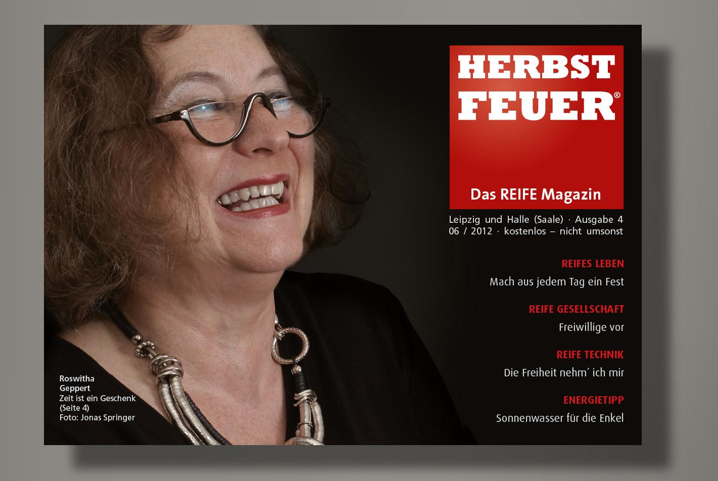 HERBSTFEUER – Das REIFE Magazin für Leipzig und Halle (Saale); Ausgabe 4