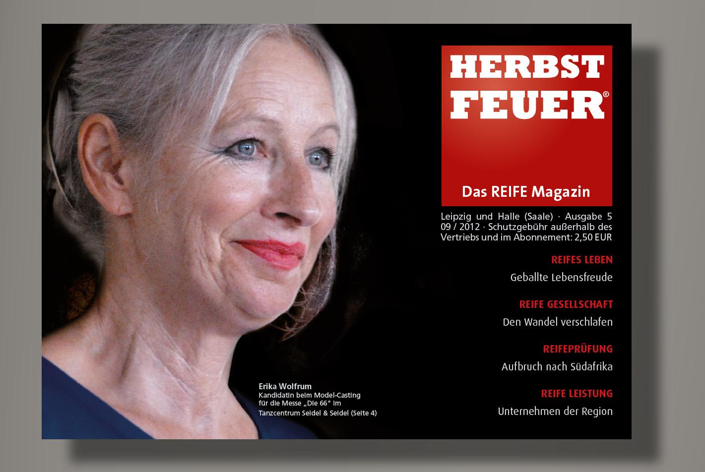 HERBSTFEUER – Das REIFE Magazin für Leipzig und Halle (Saale); Ausgabe 5