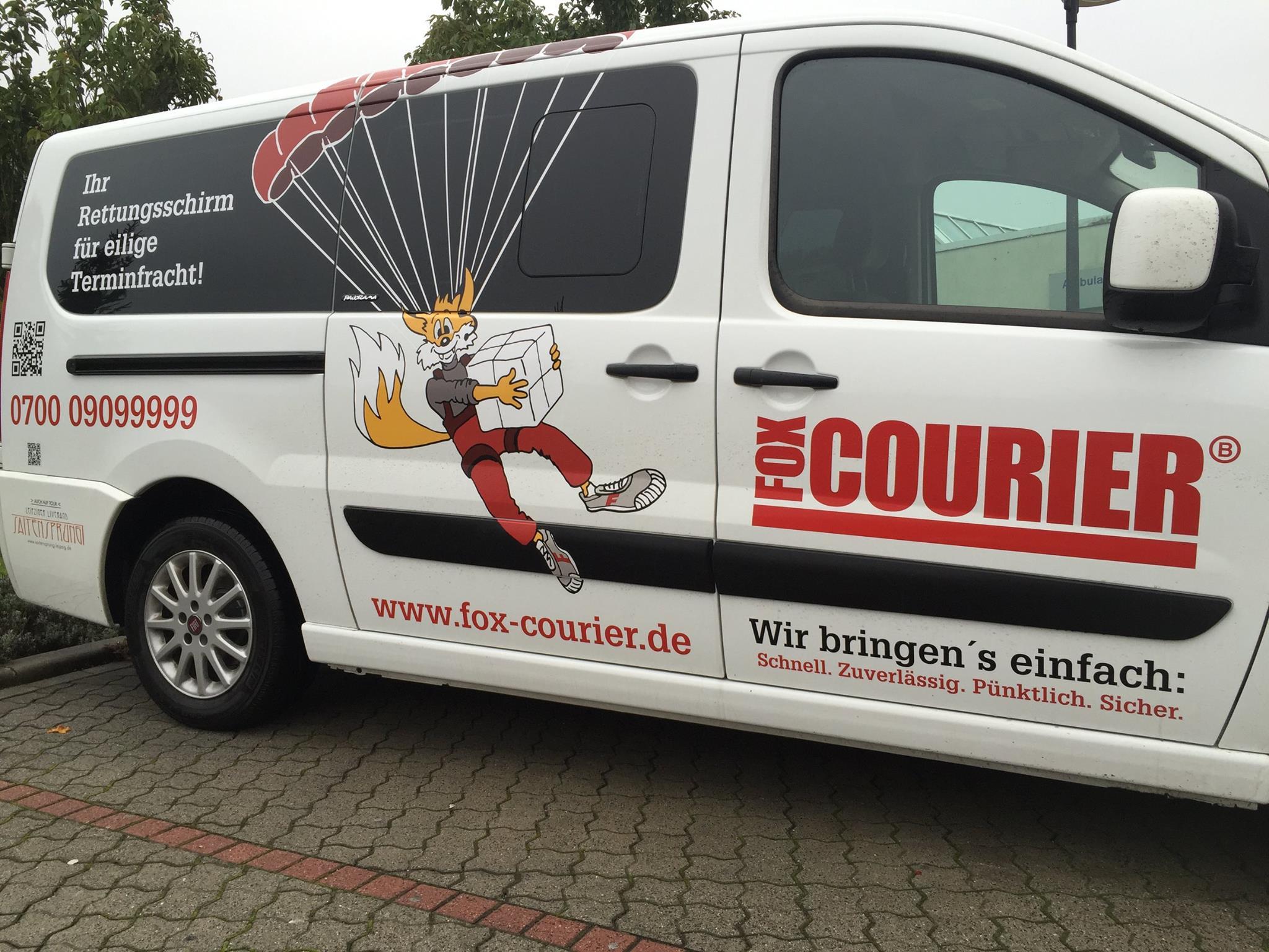 Fahrzeuggestaltung fox-COURIER GmbH Leipzig by Reichelt