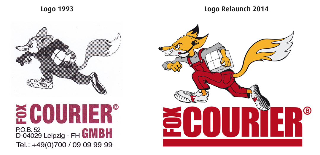fox COURIER Logo Relaunch 2014