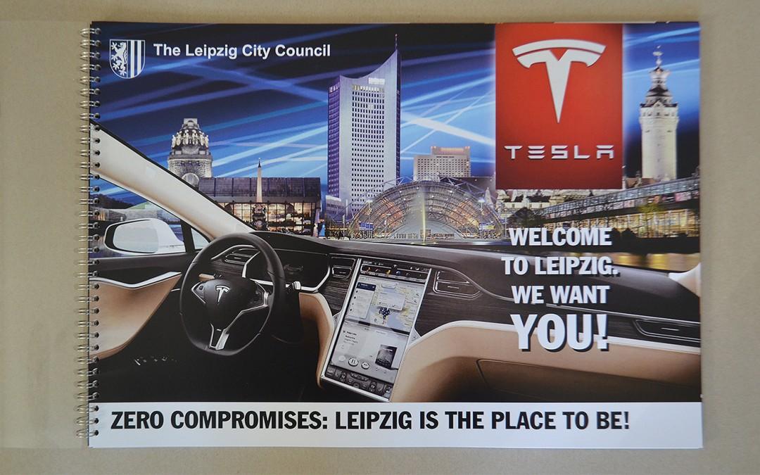 Tesla kommt nach Leipzig