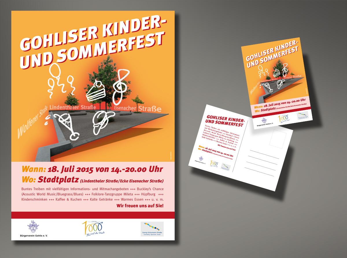 Visual Gohliser Kinder- und Sommerfest 2015