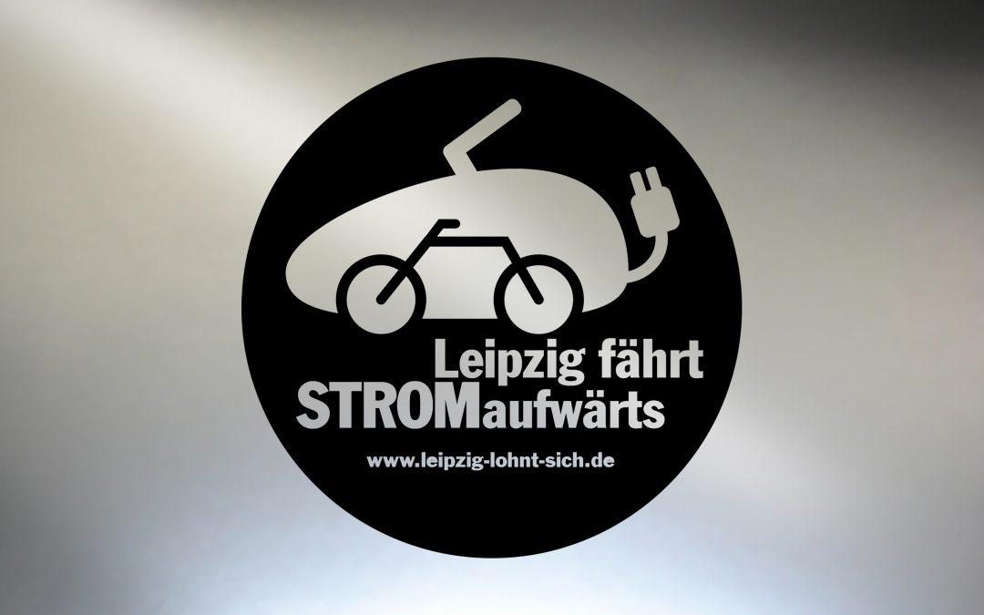 Piktogramm für intelligente Mobilität in Leipzig